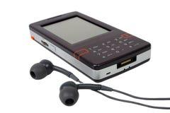 Teléfono celular de los multimedia Foto de archivo
