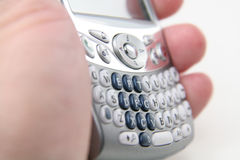Teléfono celular elegante Foto de archivo