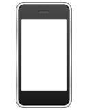 Teléfono celular genérico de la pantalla táctil ilustración del vector
