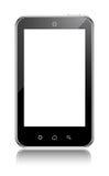 Teléfono celular genérico de la pantalla táctil Imágenes de archivo libres de regalías