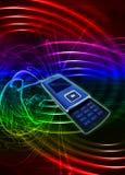 Teléfono celular móvil Imagen de archivo libre de regalías