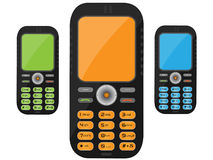 Teléfono celular negro Imagen de archivo