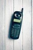 Teléfono celular viejo Imágenes de archivo libres de regalías