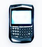 Teléfono celular y organizador del email Fotos de archivo