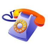 Teléfono clásico fotografía de archivo
