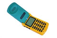 Teléfono coloreado Imagen de archivo libre de regalías