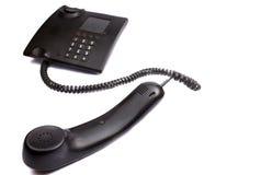 Teléfono con el tubo sacado Foto de archivo