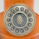 Teléfono con el viejo estilo Foto de archivo
