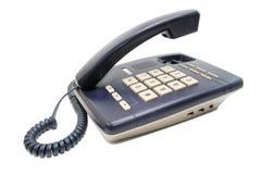 Teléfono con los botones blancos Fotografía de archivo