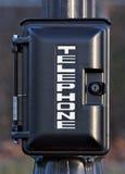 Teléfono de emergencia Imagenes de archivo
