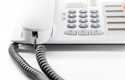 Teléfono de escritorio Fotos de archivo