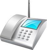 Teléfono de escritorio   Imágenes de archivo libres de regalías