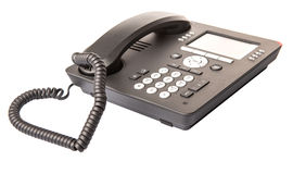Teléfono de escritorio moderno II Foto de archivo