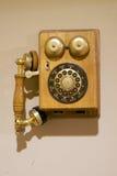 Teléfono de la antigüedad Fotos de archivo