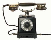 Teléfono de la antigüedad Foto de archivo