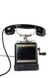 Teléfono de la antigüedad imágenes de archivo libres de regalías