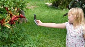 Teléfono de la cámara Imagenes de archivo