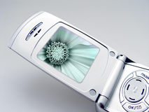 Teléfono de la cámara fotografía de archivo