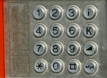 Teléfono de la calle Fotografía de archivo
