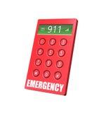 Teléfono de la emergencia ilustración del vector