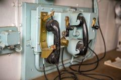 Teléfono de la nave Foto de archivo