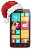 Teléfono de la Navidad. Foto de archivo