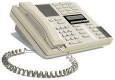 Teléfono de la oficina Fotos de archivo libres de regalías
