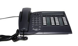 Teléfono de la oficina Foto de archivo