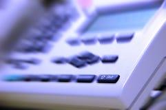 Teléfono de la oficina Fotos de archivo
