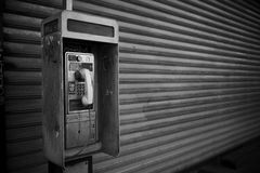 Teléfono de la paga Imagenes de archivo