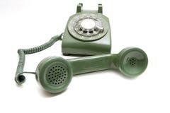 Teléfono de la vendimia Imágenes de archivo libres de regalías