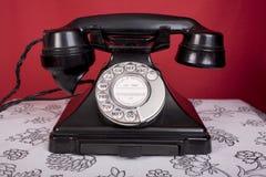 Teléfono de los años '40 Foto de archivo