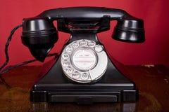 Teléfono de los años '40 Imagen de archivo libre de regalías