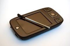 Teléfono de PDA Imágenes de archivo libres de regalías