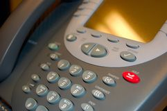 Teléfono de VOiP Fotografía de archivo libre de regalías