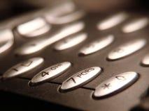 Teléfono del asunto Imagen de archivo libre de regalías