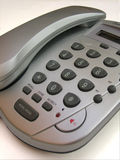 Teléfono del gris de la estación Imagen de archivo