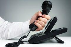 Teléfono del negocio Fotografía de archivo libre de regalías