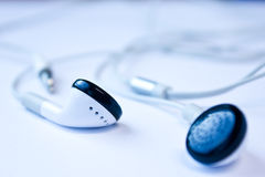 Teléfono del oído foto de archivo