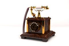 Teléfono del vintage Imágenes de archivo libres de regalías
