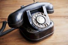 Teléfono del vintage Imagen de archivo libre de regalías