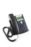 Teléfono ejecutivo aislado de VoIP Foto de archivo libre de regalías