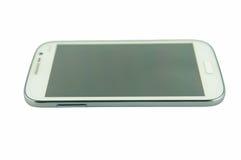 Teléfono elegante blanco Fotografía de archivo