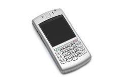 Teléfono elegante con el teclado qwerty Fotos de archivo