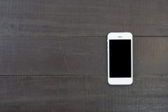 Teléfono elegante con la pantalla aislada Fotografía de archivo