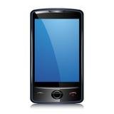 Teléfono elegante de la pantalla táctil Imagen de archivo