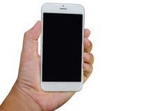 Teléfono elegante a disposición Imagen de archivo libre de regalías