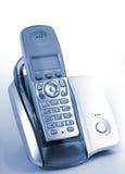 Teléfono en horquilla Fotografía de archivo
