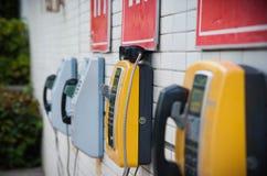 Teléfono en la universidad China de Shenzhen Fotos de archivo libres de regalías