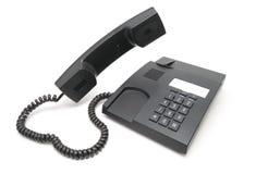 Teléfono gris Foto de archivo libre de regalías